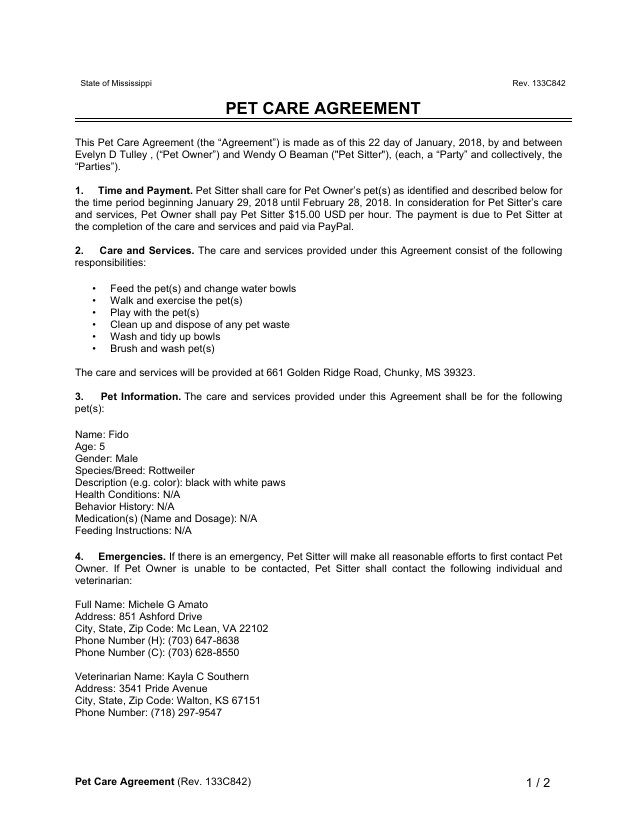Pet Sitter Instructions Template from production-eformsbackend-nat.s3.amazonaws.com
